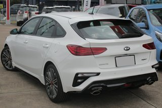 2019 Kia Cerato BD MY19 GT DCT Clear White 7 Speed Sports Automatic Dual Clutch Hatchback.