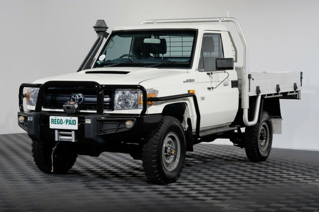 Used Toyota Landcruiser VDJ79R Workmate, 2015 Toyota Landcruiser VDJ79R Workmate French Vanilla 5 Speed Manual Cab Chassis