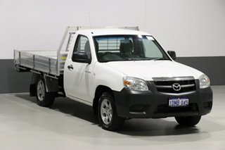2010 Mazda BT-50 09 Upgrade Boss B2500 DX White 5 Speed Manual Cab Chassis