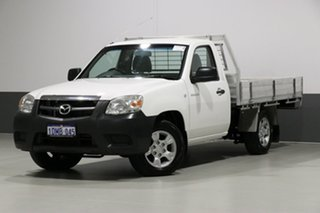 2010 Mazda BT-50 09 Upgrade Boss B2500 DX White 5 Speed Manual Cab Chassis.