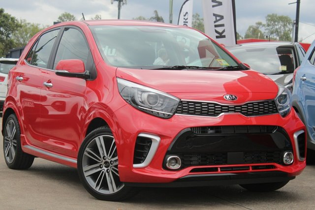 Used Kia Picanto JA MY19 GT, 2019 Kia Picanto JA MY19 GT Signal Red 5 Speed Manual Hatchback