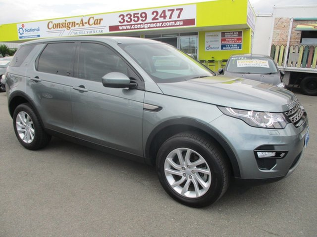 Used Land Rover Discovery Sport L550 16MY Si4 SE, 2015 Land Rover Discovery Sport L550 16MY Si4 SE Grey 9 Speed Sports Automatic Wagon