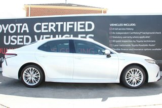 2018 Toyota Camry AXVH71R SL Frosted White 6 Speed Constant Variable Sedan Hybrid