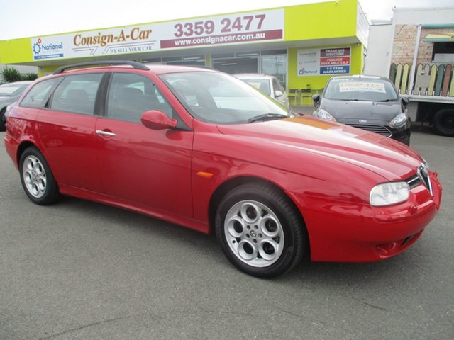 Used Alfa Romeo 156 MY2004 JTS, 2003 Alfa Romeo 156 MY2004 JTS Red 5 Speed Manual Wagon
