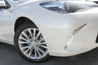 2016 Toyota Camry AVV50R Atara SL Crystal Pearl 1 Speed Constant Variable Sedan Hybrid.
