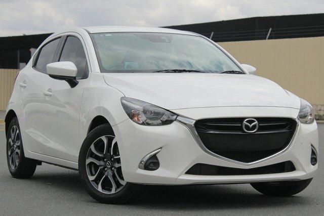 Used Mazda 2 DJ2HAA Genki SKYACTIV-Drive, 2017 Mazda 2 DJ2HAA Genki SKYACTIV-Drive White 6 Speed Sports Automatic Hatchback