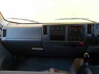 2008 Isuzu N NH NPR MWB White Dual Cab 5.2l