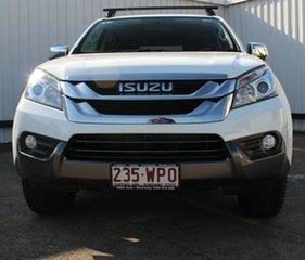 2016 Isuzu MU-X MY15.5 LS-U Rev-Tronic 4x2 White 5 Speed Sports Automatic Wagon.