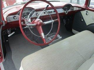 1955 Chevrolet Bel-Air PILLARLESS Burgundy Coupe