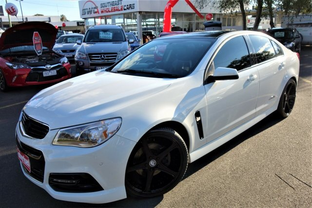 Used Holden Commodore VF MY15 SS, 2015 Holden Commodore VF MY15 SS White 6 Speed Sports Automatic Sedan