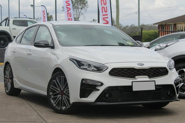 Used Kia Cerato BD MY19 GT DCT, 2019 Kia Cerato BD MY19 GT DCT Clear White 7 Speed Sports Automatic Dual Clutch Hatchback