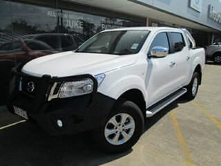 2018 Nissan Navara D23 S3 ST Polar White 6 Speed Manual Utility.