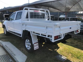2015 Holden Colorado RG MY16 LS (4x4) White 6 Speed Automatic Crew Cab Chassis