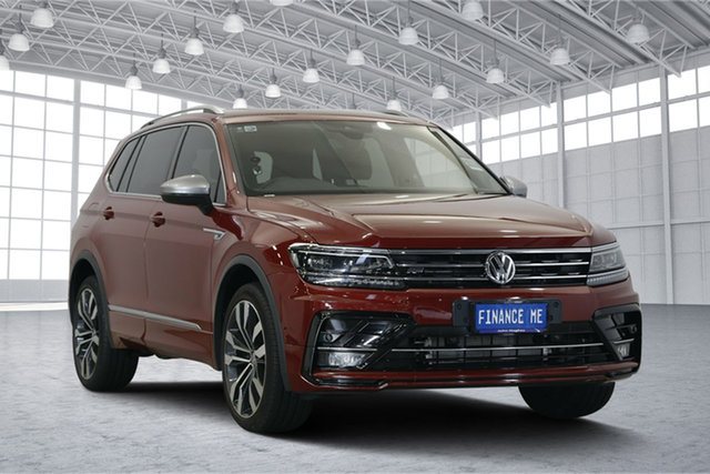 Used Volkswagen Tiguan 5N MY18 162TSI Highline DSG 4MOTION Allspace, 2018 Volkswagen Tiguan 5N MY18 162TSI Highline DSG 4MOTION Allspace Ruby Red 7 Speed