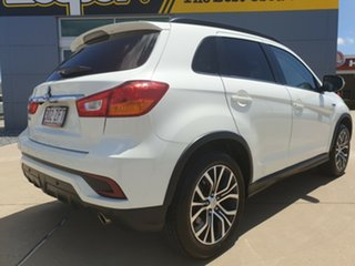 2018 Mitsubishi ASX XC MY18 LS 2WD White 6 Speed Constant Variable Wagon.