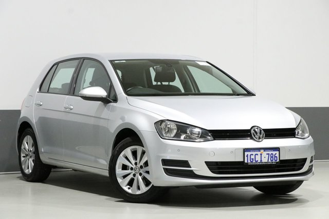 Used Volkswagen Golf AU MY14 90 TSI Comfortline, 2014 Volkswagen Golf AU MY14 90 TSI Comfortline Silver 7 Speed Auto Direct Shift Hatchback