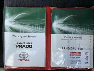 2014 Toyota Landcruiser Prado KDJ150R GXL White 5 Speed Automatic Wagon