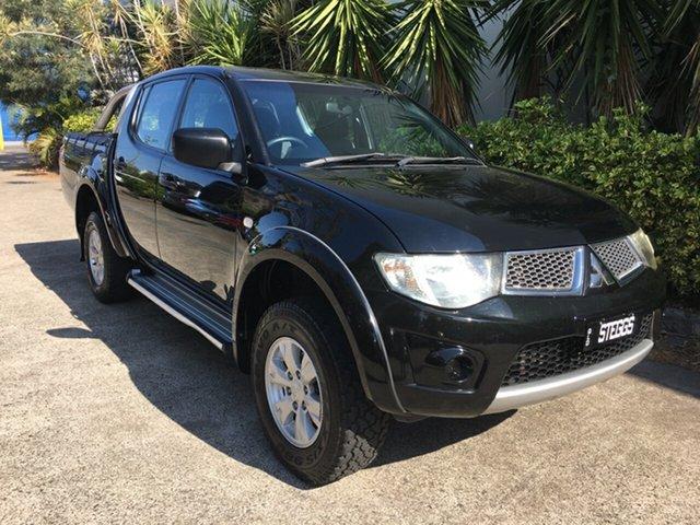 Used Mitsubishi Triton MN MY13 GL-R (4x4), 2013 Mitsubishi Triton MN MY13 GL-R (4x4) Black 5 Speed Manual Double Cab Utility