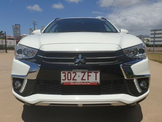 2018 Mitsubishi ASX XC MY18 LS 2WD White 6 Speed Constant Variable Wagon