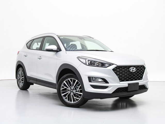 New Hyundai Tucson TL4 MY20 Active X (2WD) Black INT, 2019 Hyundai Tucson TL4 MY20 Active X (2WD) Black INT Platinum Silver Metallic 6 Speed Automatic