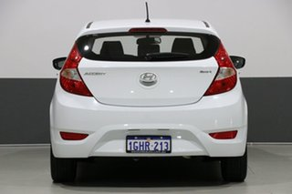 2017 Hyundai Accent RB5 Sport White 6 Speed Automatic Hatchback