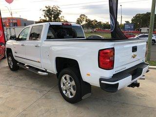 2019 Chevrolet Silverado CK25743 MY19 2500HD LTZ Custom Sport Edt Summit White 6 Speed Automatic.