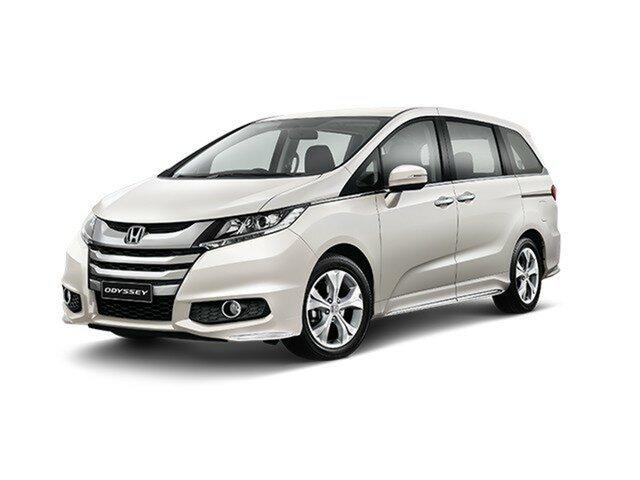 Demo Honda Odyssey RC MY19 VTi, 2019 Honda Odyssey RC MY19 VTi Platinum White 7 Speed Constant Variable Wagon