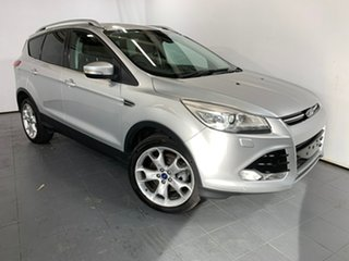 2013 Ford Kuga TF Titanium AWD Silver 6 Speed Sports Automatic Wagon.