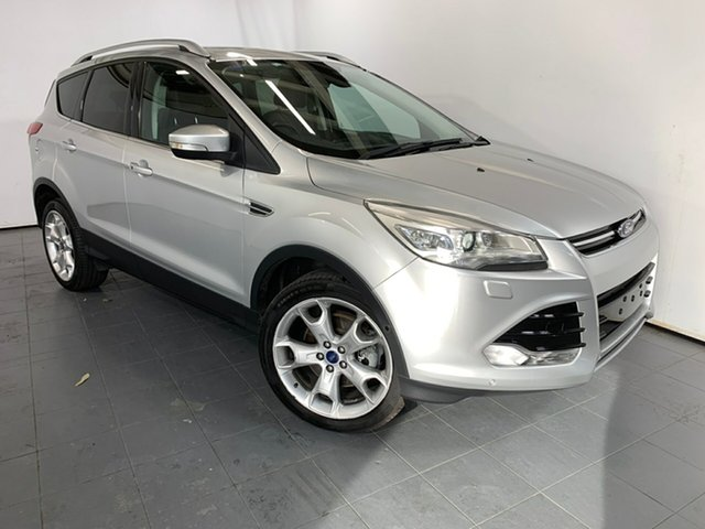 Used Ford Kuga TF Titanium AWD, 2013 Ford Kuga TF Titanium AWD Silver 6 Speed Sports Automatic Wagon