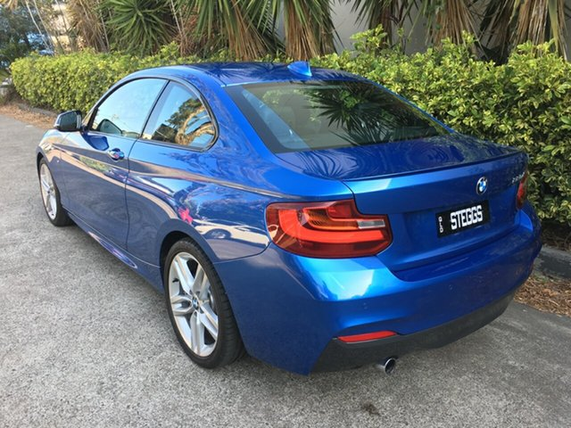 Used BMW 220d F22 , 2014 BMW 220d F22 Blue 8 Speed Automatic Coupe