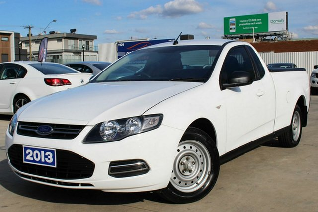 Used Ford Falcon FG MkII EcoLPi Ute Super Cab, 2013 Ford Falcon FG MkII EcoLPi Ute Super Cab White 6 Speed Sports Automatic Utility