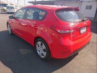 2014 Kia Cerato YD MY14 S Red 6 Speed Automatic Hatchback