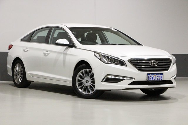 Used Hyundai Sonata LF3 MY17 Active, 2017 Hyundai Sonata LF3 MY17 Active White 6 Speed Automatic Sedan