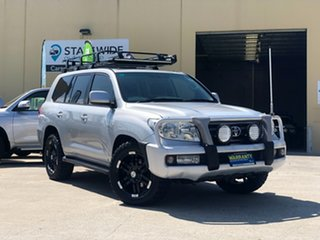 2009 Toyota Landcruiser UZJ200R MY10 VX Silver 5 Speed Sports Automatic Wagon.