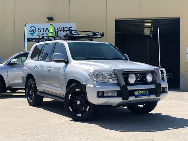 Used Toyota Landcruiser UZJ200R MY10 VX, 2009 Toyota Landcruiser UZJ200R MY10 VX Silver 5 Speed Sports Automatic Wagon