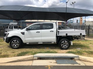 2015 Ford Ranger PX XL 3.2 (4x4) White 6 Speed Automatic Dual Cab Chassis