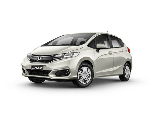 Demo Honda Jazz GF MY20 VTi, 2019 Honda Jazz GF MY20 VTi Platinum White 1 Speed Constant Variable Hatchback