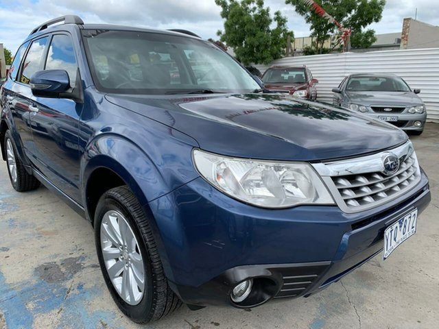 Used Subaru Forester S3 MY12 XS AWD, 2011 Subaru Forester S3 MY12 XS AWD Blue 4 Speed Sports Automatic Wagon