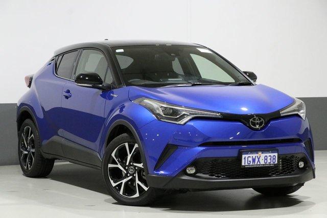Used Toyota C-HR NGX10R Update Koba (2WD), 2019 Toyota C-HR NGX10R Update Koba (2WD) Blue Continuous Variable Wagon
