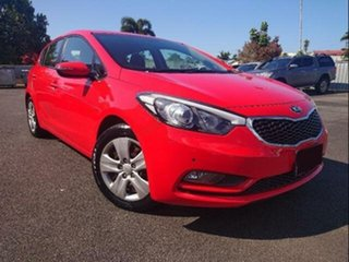 2014 Kia Cerato YD MY14 S Red 6 Speed Automatic Hatchback.