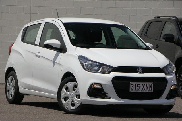 Used Holden Spark MP MY17 LS, 2017 Holden Spark MP MY17 LS White 1 Speed Constant Variable Hatchback