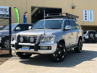 2009 Toyota Landcruiser UZJ200R MY10 VX Silver 5 Speed Sports Automatic Wagon