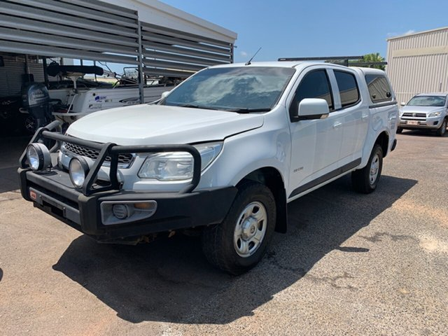 Used Holden Colorado RG MY14 LX Crew Cab, 2014 Holden Colorado RG MY14 LX Crew Cab White 6 Speed Sports Automatic Utility