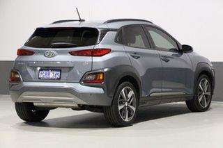 2019 Hyundai Kona OS.2 MY19 Highlander (AWD) Silver 7 Speed Auto Dual Clutch Wagon