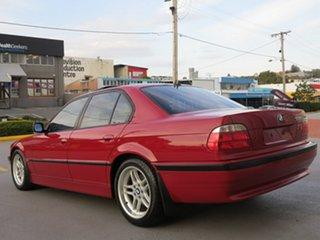 1999 BMW 7 Series E38 735i Steptronic Red 5 Speed Sports Automatic Sedan