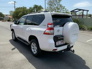 2014 Toyota Landcruiser Prado KDJ150R GXL White 5 Speed Automatic Wagon