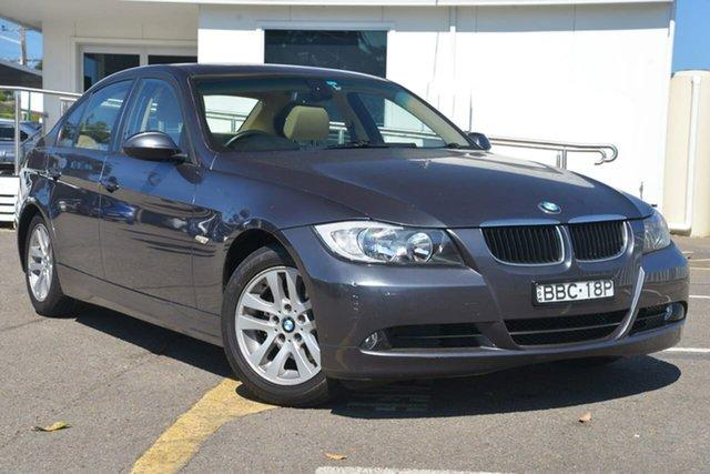 Used BMW 3 Series E90 320i Steptronic, 2007 BMW 3 Series E90 320i Steptronic Grey 6 Speed Automatic Sedan
