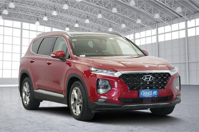 Used Hyundai Santa Fe TM MY19 Highlander, 2018 Hyundai Santa Fe TM MY19 Highlander Horizon Red 8 Speed Sports Automatic Wagon
