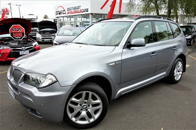 Used BMW X3 E83 MY09 xDrive30d Steptronic Lifestyle, 2008 BMW X3 E83 MY09 xDrive30d Steptronic Lifestyle Grey 6 Speed Automatic Wagon
