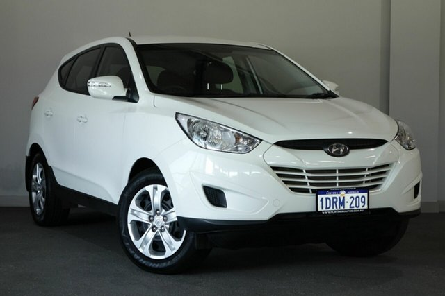 Used Hyundai ix35 LM MY12 Active, 2011 Hyundai ix35 LM MY12 Active White 6 Speed Sports Automatic Wagon